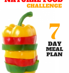 The Natural Food Challenge Meal Plan